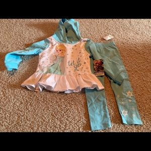 Frozen 3T outfit NWT